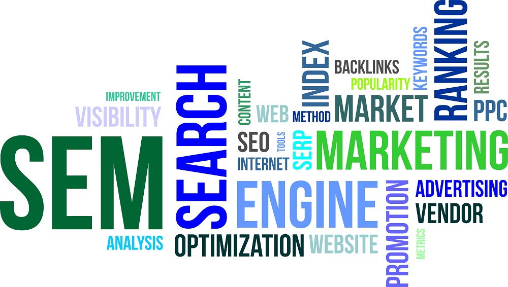 Search Engine Marketing (SEM) and Pay Per Click management (PPC)